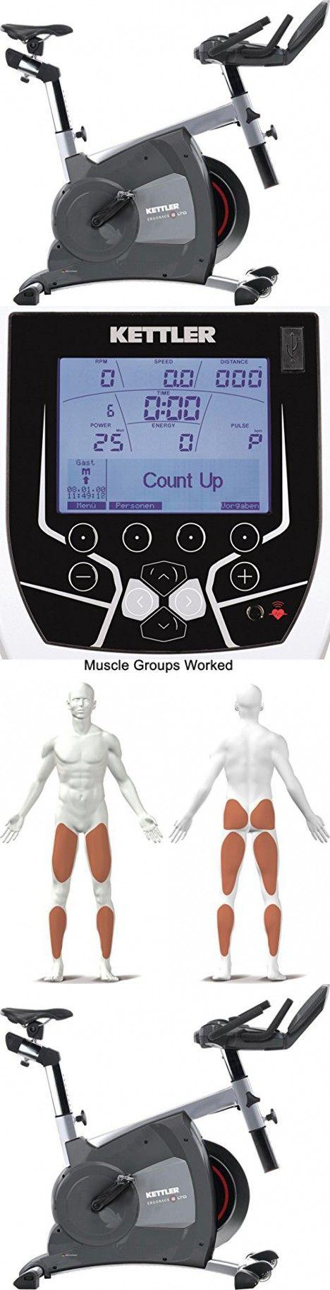 Kettler Home Exercise/Fitness Equipment: ERGO RACE II LTD Indoor Cycling Speed Trainer