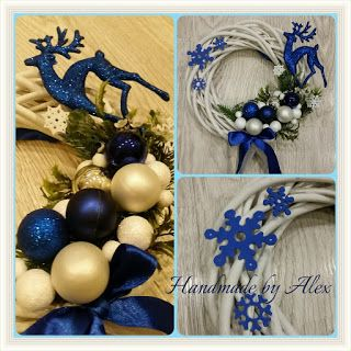 Handmade by Alex: Niebiesko miii