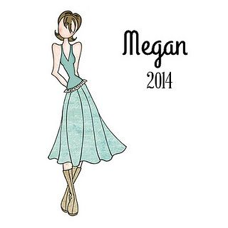 NEW! Julie Nutting Doll Stamp - Megan - Now taking Pre-Orders for the 2014 Collection.......  https://www.etsy.com/shop/CrazyCraftyCreators