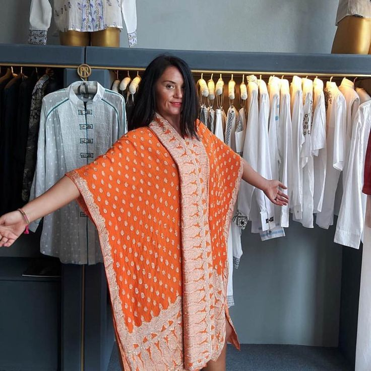 Hand-cut silk… Our lustrous classic in a bold and vibrant colour. We love orange and you? Discover our collections at www.paulropp.com #gipsysoul #gipsystyle #bohochic #boho #aroundtheworld