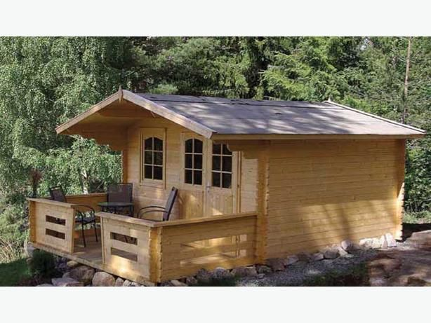 Best My Dream Eco Log Home Images On Pinterest Wooden - Backyard cabin kits