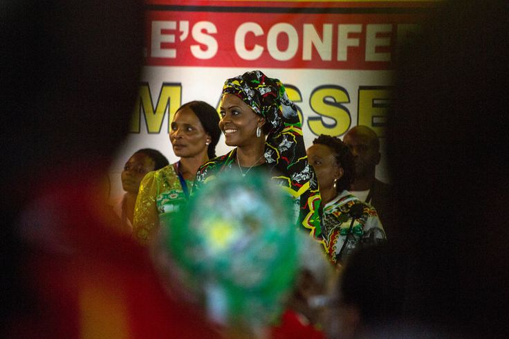 Grace Mugabe, the wife of President Robert Mugabe of Zimbabwe, is one of the main actors maneuvering to succeed him.