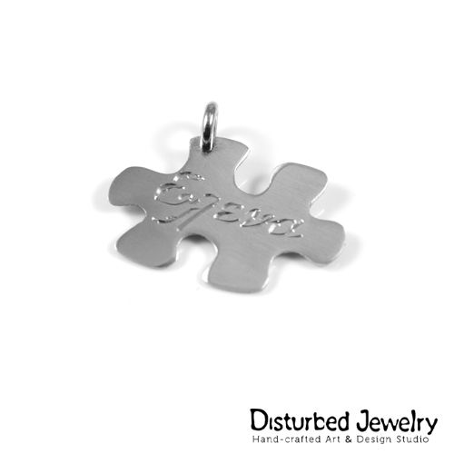 We turn your idea into a piece of #finejewelry, that last a lifetime. #customdesign #customjewelry #puzzle #pendant #handcrafted #sterlingsilver #jewelry