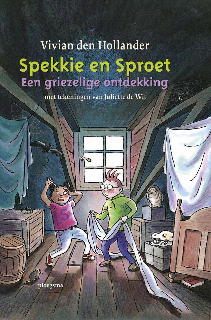 Spekkie en Sproet: Een griezelige ontdekking (Boek) door Vivian den Hollander | Literatuurplein.nl