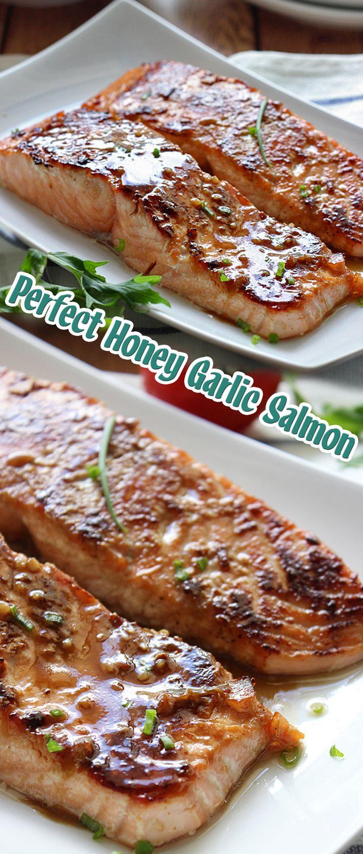 Perfect Honey Garlic Salmon