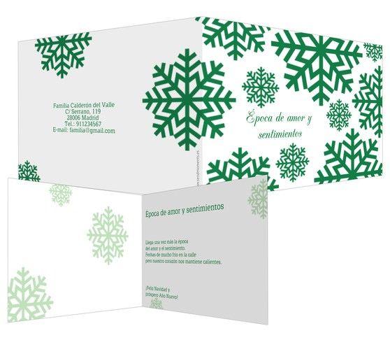 Amor y sentimientos tarjeta de felicitaci n de - Tarjetas felicitacion navidad ...