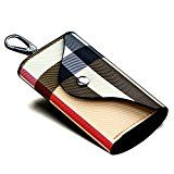 #9: YP 6連 レザー キーケース カードポケット付き レディース