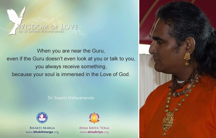 Paramahamsa Sri Swami Vishwananada -Wisdom of Love -Padmavati  https://twitter.com/Vishwanandaji1