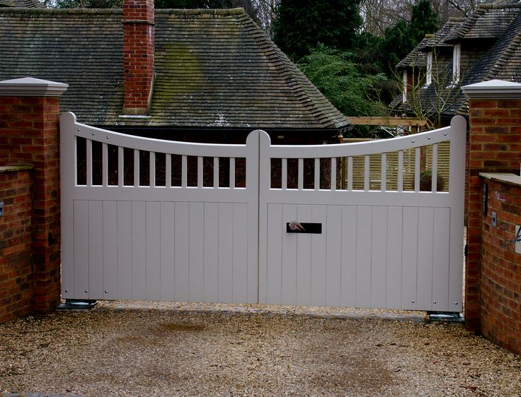 Sliding Driveway Gates Wooden - WoodWorking Projects & Plans