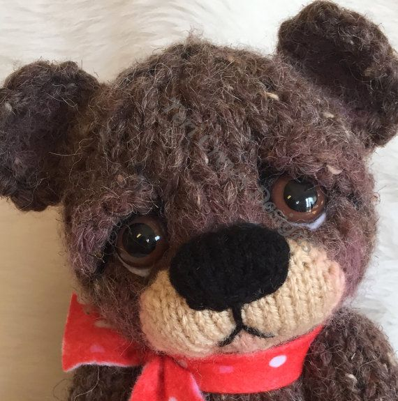New Sweet Knit Bear Knitting Pattern by Teri Crews