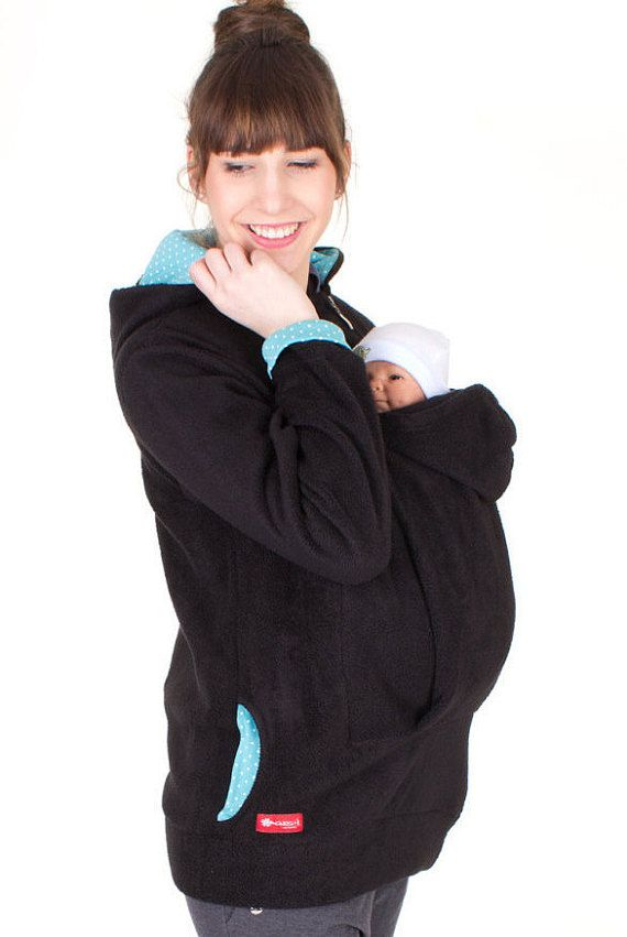 Baby carrying jacket for mother baby AHOI by VivalaMamaBerlin