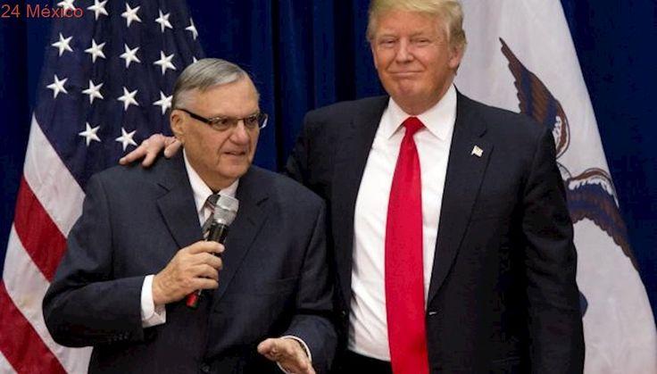 Casa Blanca rechaza que Trump vaya a indultar a Arpaio en su viaje a Arizona