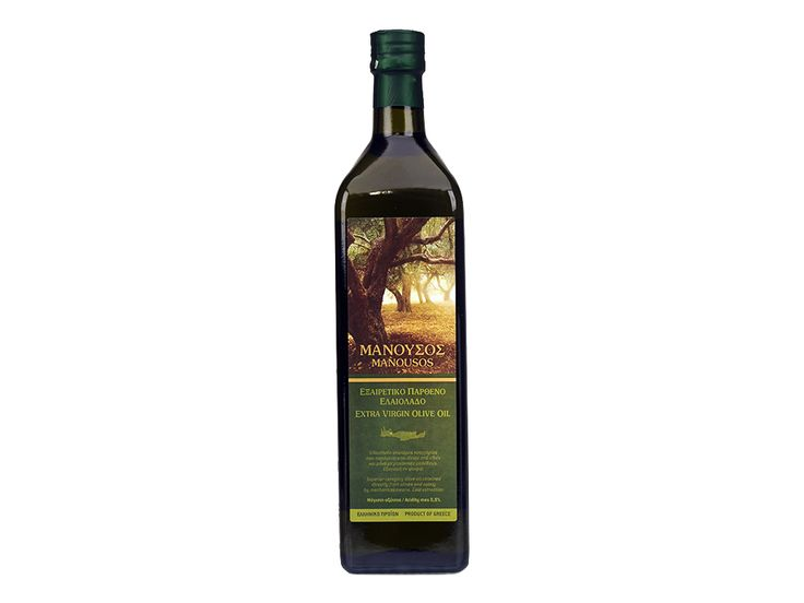 $13.21Net weight: 1lt(33.81 oz) Acidity max.0.8-P.D.O. Apokoronas, Chania, Crete. Superior category olive oil obtained directly from olives and solely by mechanical means. Cold extraction.