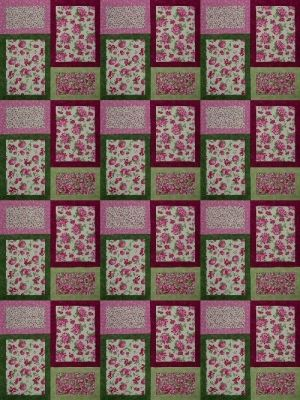 Easy quilt pattern and so sweet! by sondra