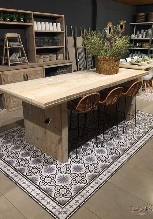 Tapis de sol cuisine moderne thibaude indoor tapis avant for Meuble cuisine 40x60