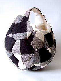 DIY: soccerball bag サッカーボールバッグ