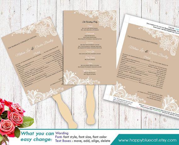 12 best DIY wedding printables images on Pinterest Rustic - wedding brochure template