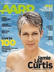 She hopes her revealing cover for the AARP Magazine will inspire a leaner, lighter approach to aging