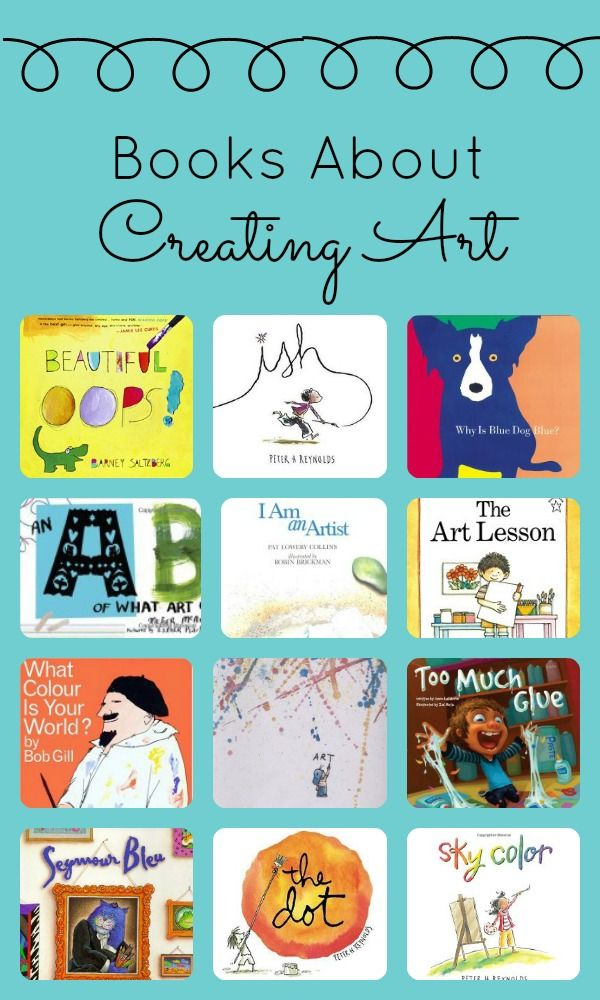 Books About Creating Art~Inspire your little artists' creativity with these great picture books about art