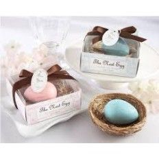 Egg Soap for a Baby Sower Favour