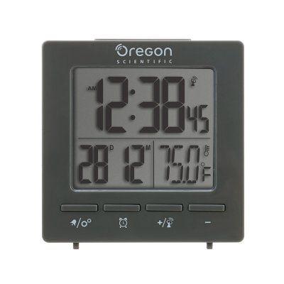 Oregon Scientific Radio Alarm Clock Gray - LTF0752010611001