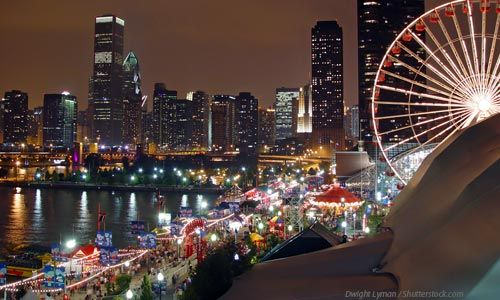 Winter WonderFest at Navy Pier Chicago IL