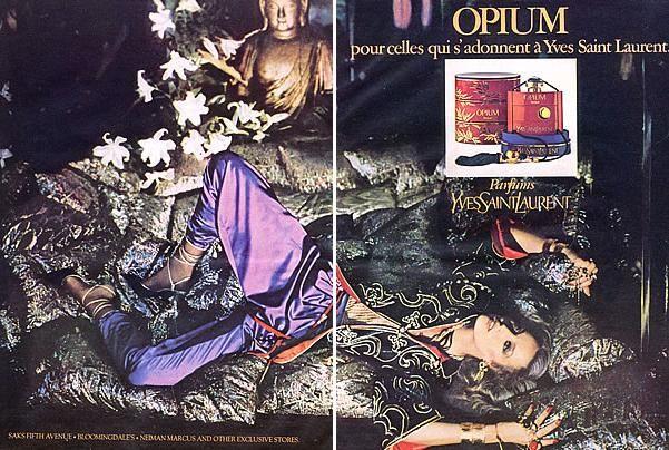 1976 YSL Opium advert