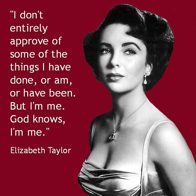 Movie Actor Quote – Elizabeth Taylor – Film Actor Quote    #elizabethtaylor