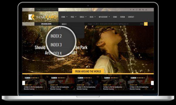 Karo-free magazine WordPress theme