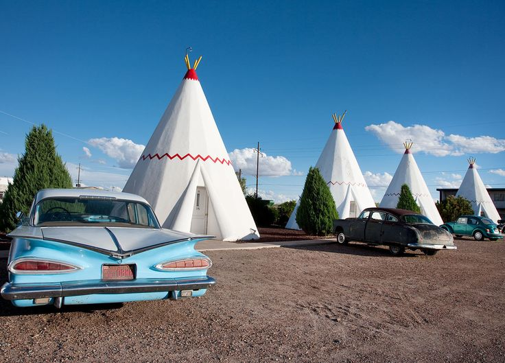 Teepee motel, Holbrook, Az