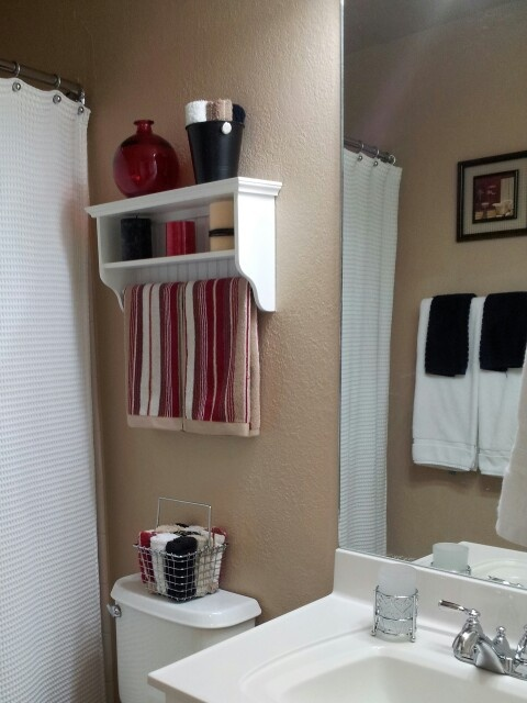 Best BATH TOWELS Images On Pinterest Bath Towels Basement - Hanging hand towels bathroom for small bathroom ideas