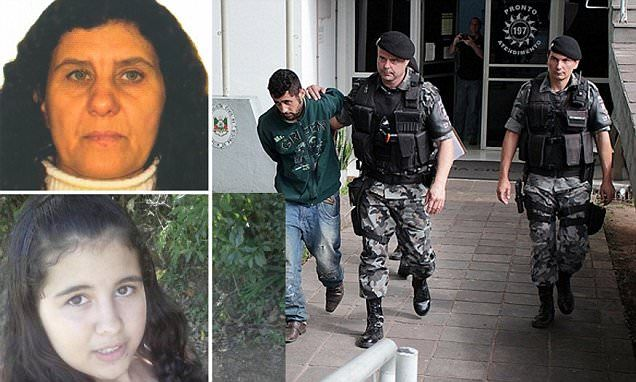BRAZIL 🇧🇷 Jealous mother GENI SINS 54 pays lover  RONALDO SANTOS 30, to murder her 15 year old daughter FRANCINE because she was afraid she would steal him away from her | Daily Mail Online