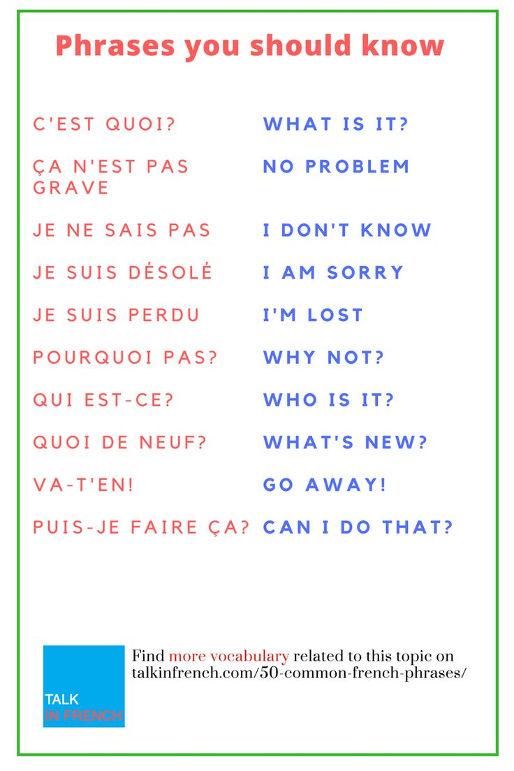 50 Common French Phrases Every French Learner Shou…