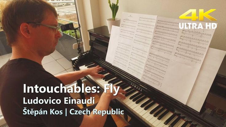 Intouchables: Fly | Ludovico Einaudi | piano cover | Hudba z filmu Nedot...