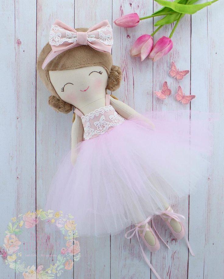 Handmade Cloth Dress Up Ballerina Doll by Precious Little Poppets  www.preciouslittlepoppets.com.au