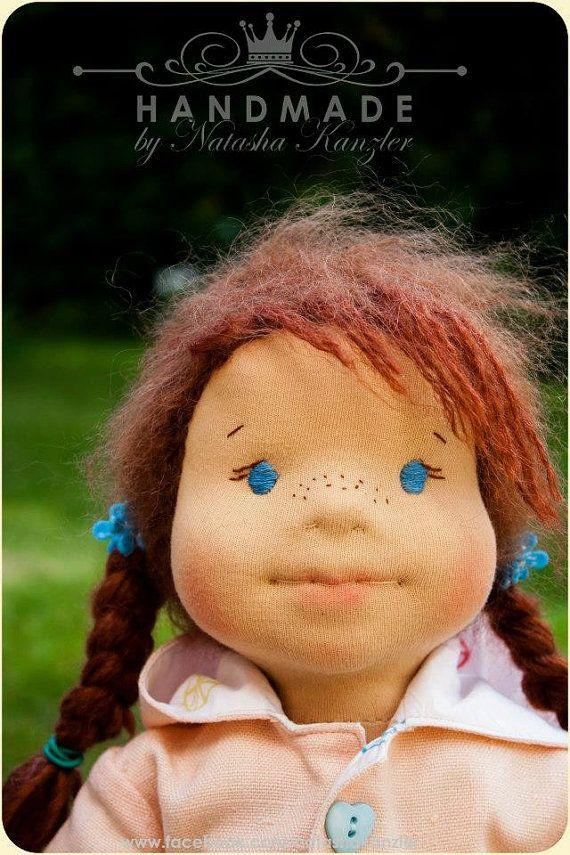 Sophia 16 inch Waldorf doll for order by OceanIdeas on Etsy