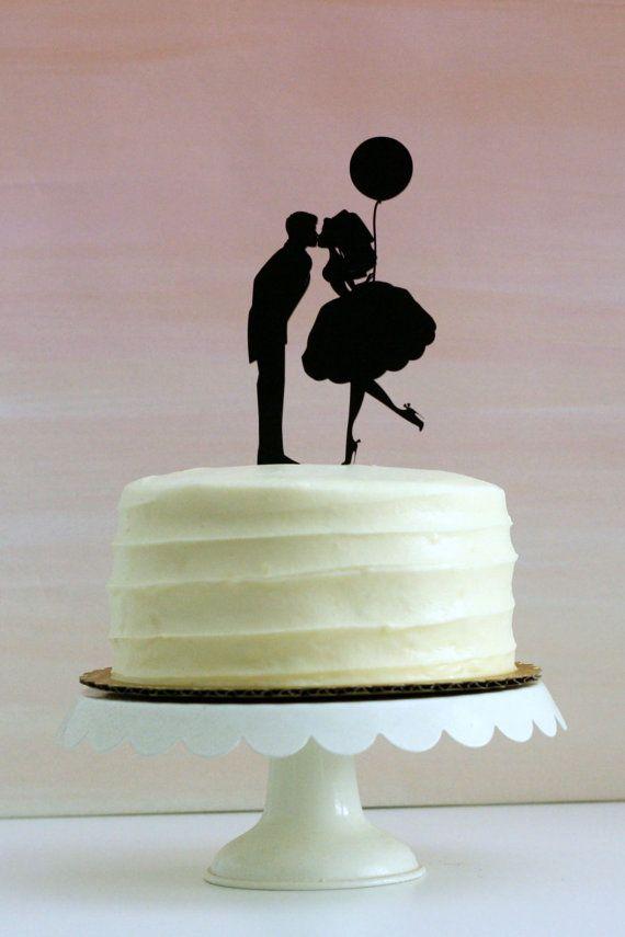 Best 25 Silhouette Wedding Cake Ideas On Pinterest