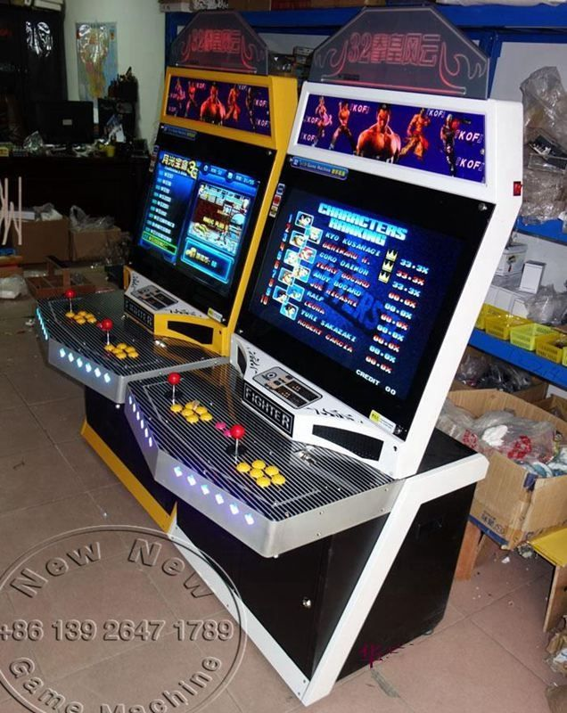 1198.00$  Buy now - http://alid33.worldwells.pw/go.php?t=32670783706 - China Electronic Shop Coin Operated Tekken Street Fighter Arcade Cabinet Video Game Machine