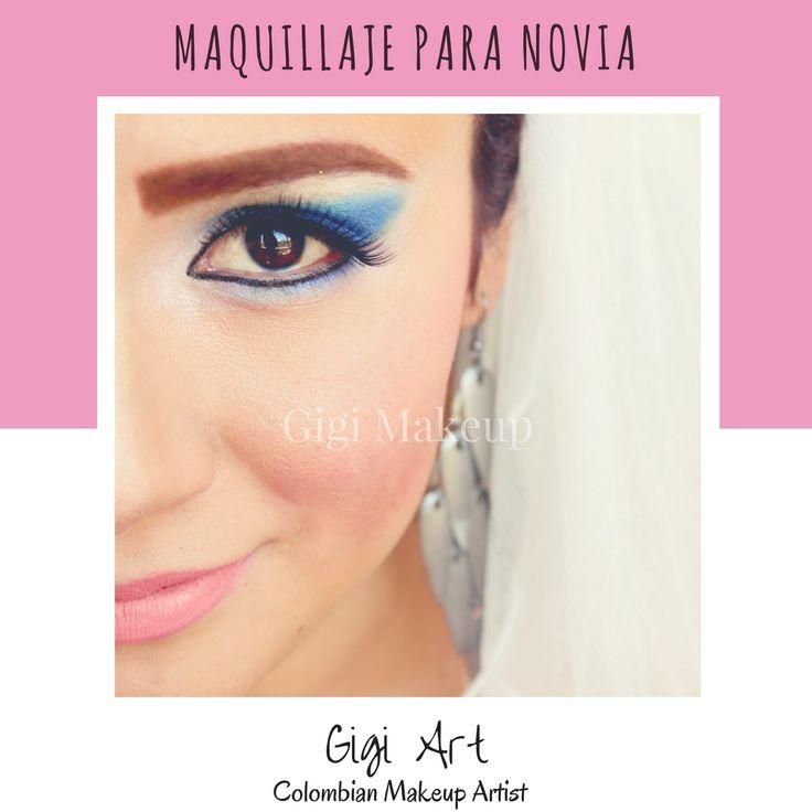 Algunas optan por un estilo atrevido, con colores fuertes.  Si das fuerza a la mirada utiliza un labial en un tono #Nude ♥ se verá hermoso! Maquillaje y fotografía: Gigi Art - Makeup Artist  #Makeup #novias #boda #maquillaje #armstrong #labiosnude #eyes #gigi #gigimakeup #makeupartist #colombiana #tonosnude #nude #argentina