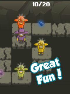 Jogue Greedy Sheriffs online no Lejogos! Ajude os Greives Sheriffs a resolverem enigmas e coletar os diamantes neste jogo de aventura brilhante. Seu objetivo é permitir que cada xerife pilhe uma b