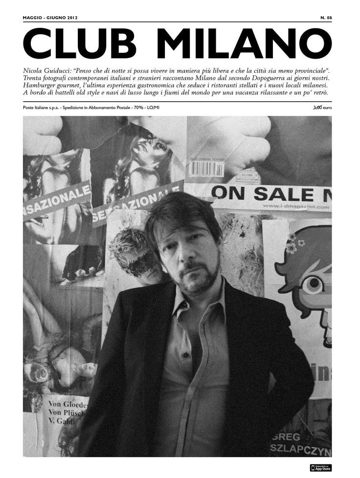 Un'intervista a Nicola Guiducci: artista, editore e fondatore del Plastic, il club più all'avanguardia d'Italia. Clicca di seguito foto per leggere scaricare l'intera intervista.  https://docs.google.com/open?id=0BwuC3pnLy02XZVJwdjlwRUJoUFE