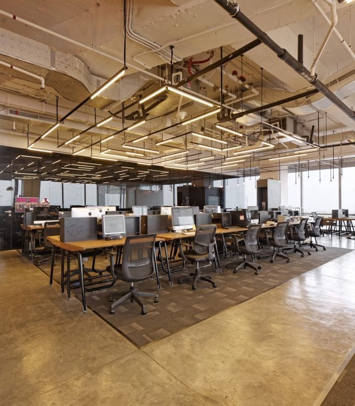 lighting for offices. industrial office design bbdo indonesia jakarta offices snapshots more designlinear lighting for