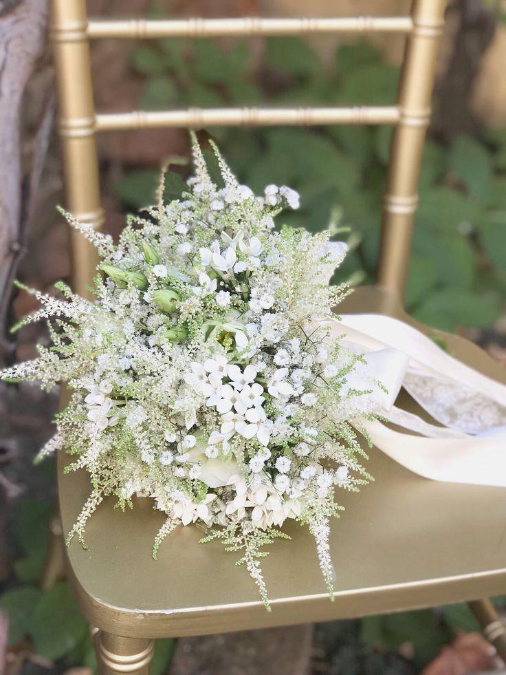 Astilbe Bride Bouquet @atelierdual #bridebouquet #atelierdual #dualeventsromania