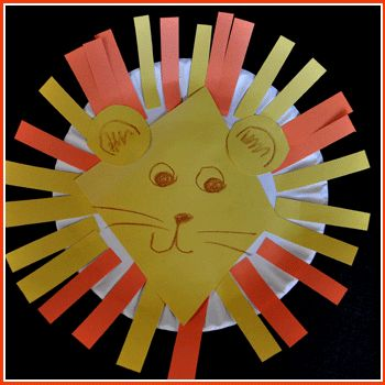 Lion craft: Kids Learning Should, Lion Head, Animals Storytime, Daniel Lions Den Craft, Daniel And The Lions Den Craft, Art Room, Easy Lion, Lion Craft, Classroom Ideas
