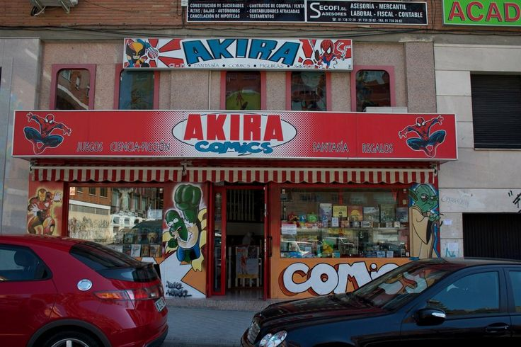 Akira Comics - Madrid, Espagne