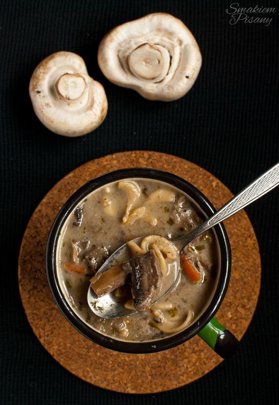 Smakiem Pisany: apetyczny, aromatyczny, kulinarny BLOG!: Zupa pieczarkowa