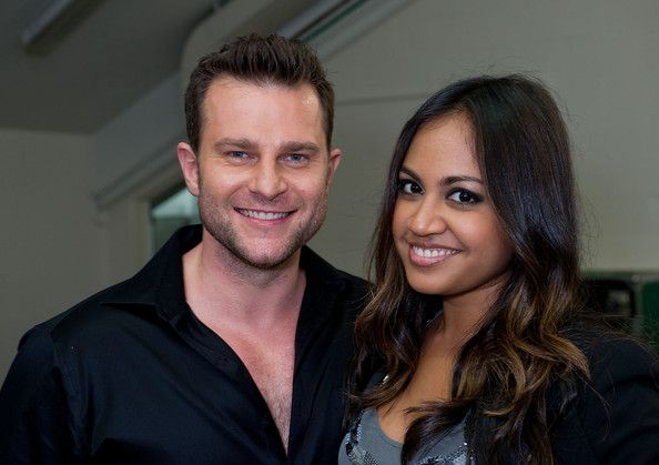 Jessica Mauboy Photos Photos - David Campbell and Jessica Mauboy backstage at the Channel Nine And Daily Telegraph telethon appeal for Queensland flood victims on January 9, 2011 in Brisbane, Australia. The Queensland flood crisis has resulted in ten deaths and affected more than 200,000 people across an area as large as France and Germany combined. The flood bill is predicted to be several billion dollars. - Celebrities Telethon To Support Flood Victims
