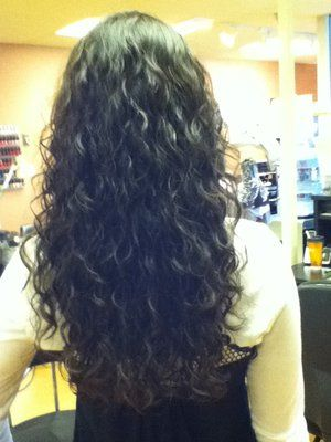 beach wave perm - Do you think mine would look like this?