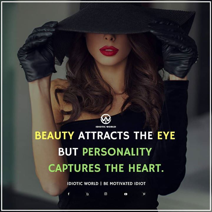 Beauty Vs Personality Classy Quotes Attitude Quotes