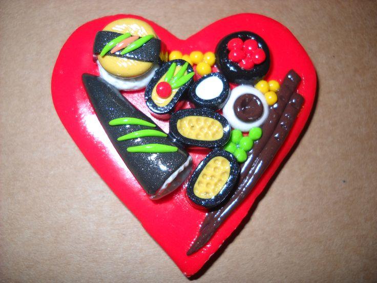 sushi in fimo